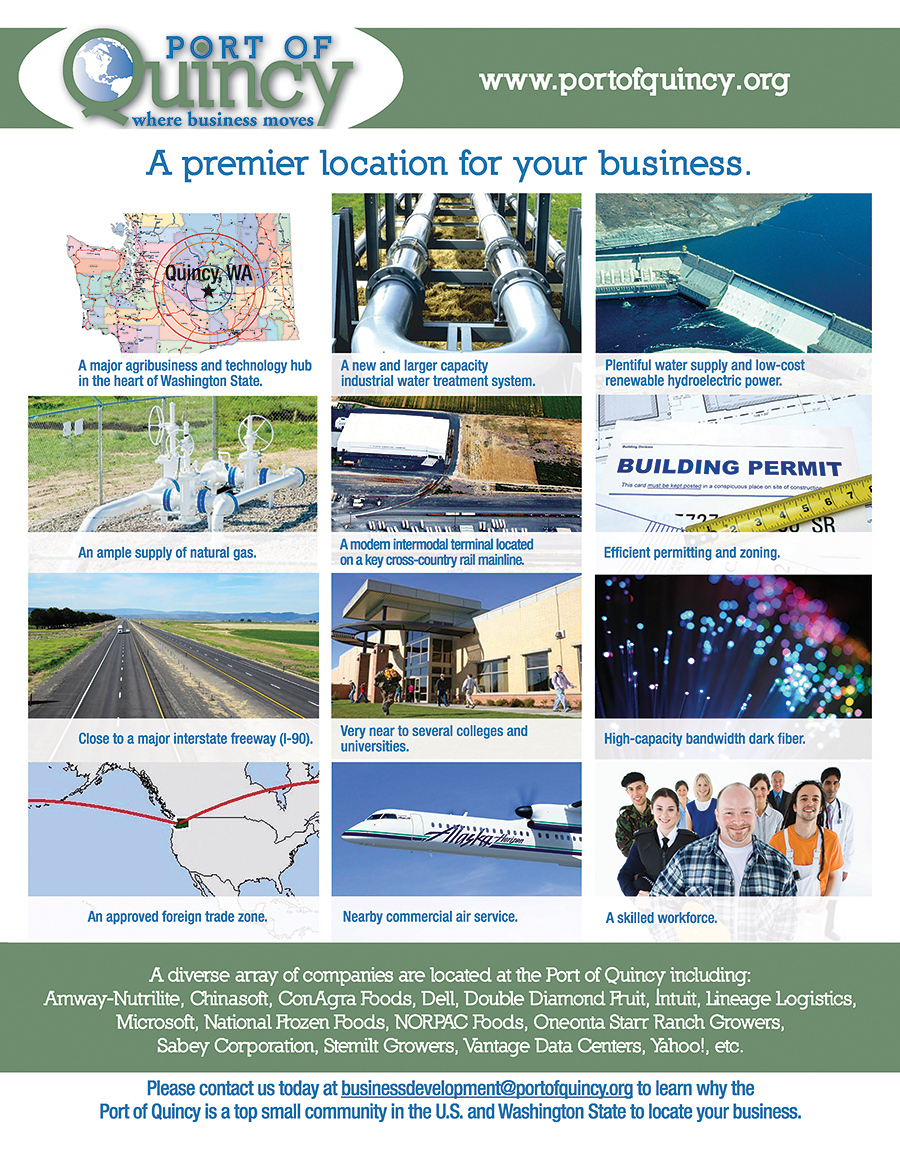 Aug 2015 POQ Ad - A premier location for your business